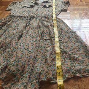 Dolce & Gabbana Dresses - Dolce & Gabbana western floral dress  M